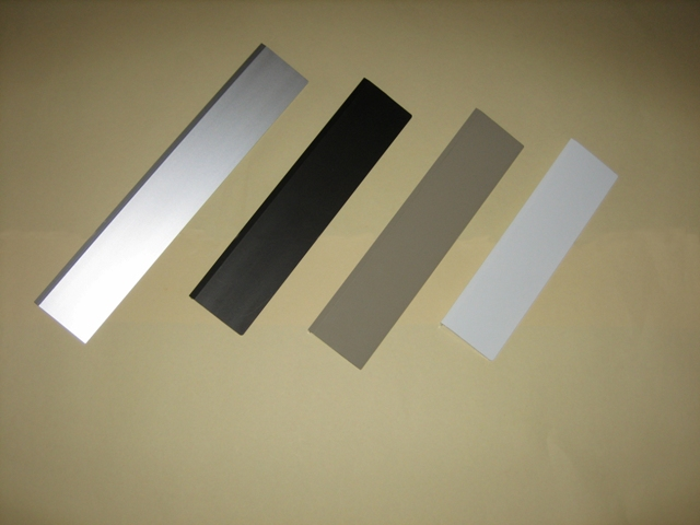 Four raincap colors for Hale Pet Door wall model