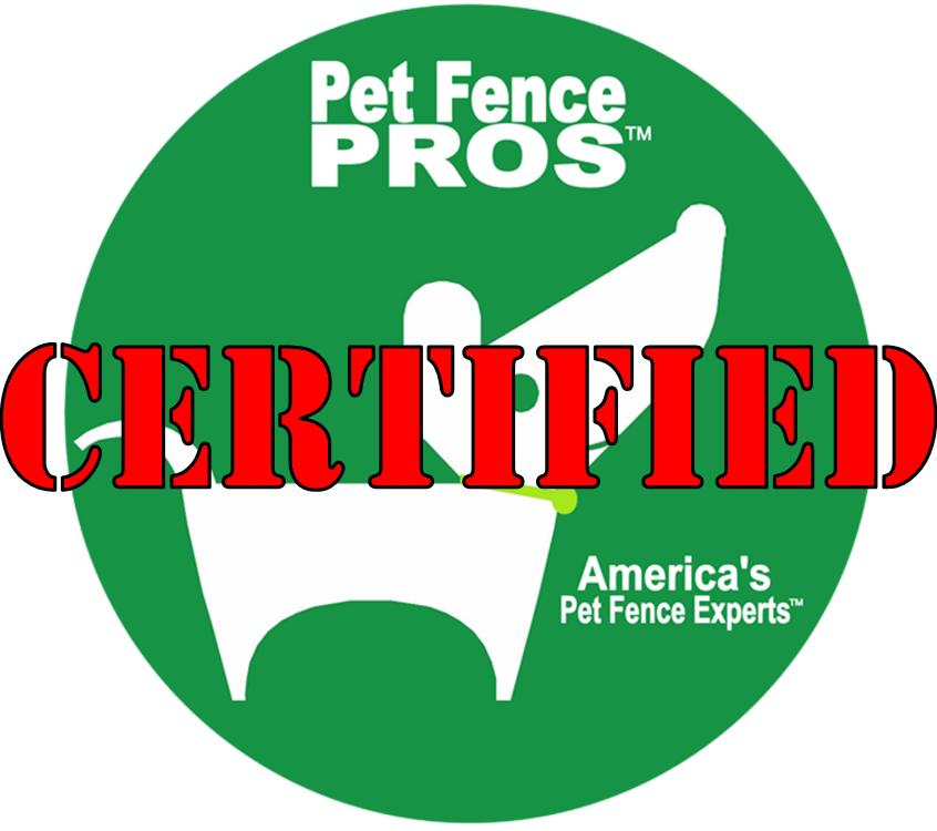 Pet Fence Pros Certified