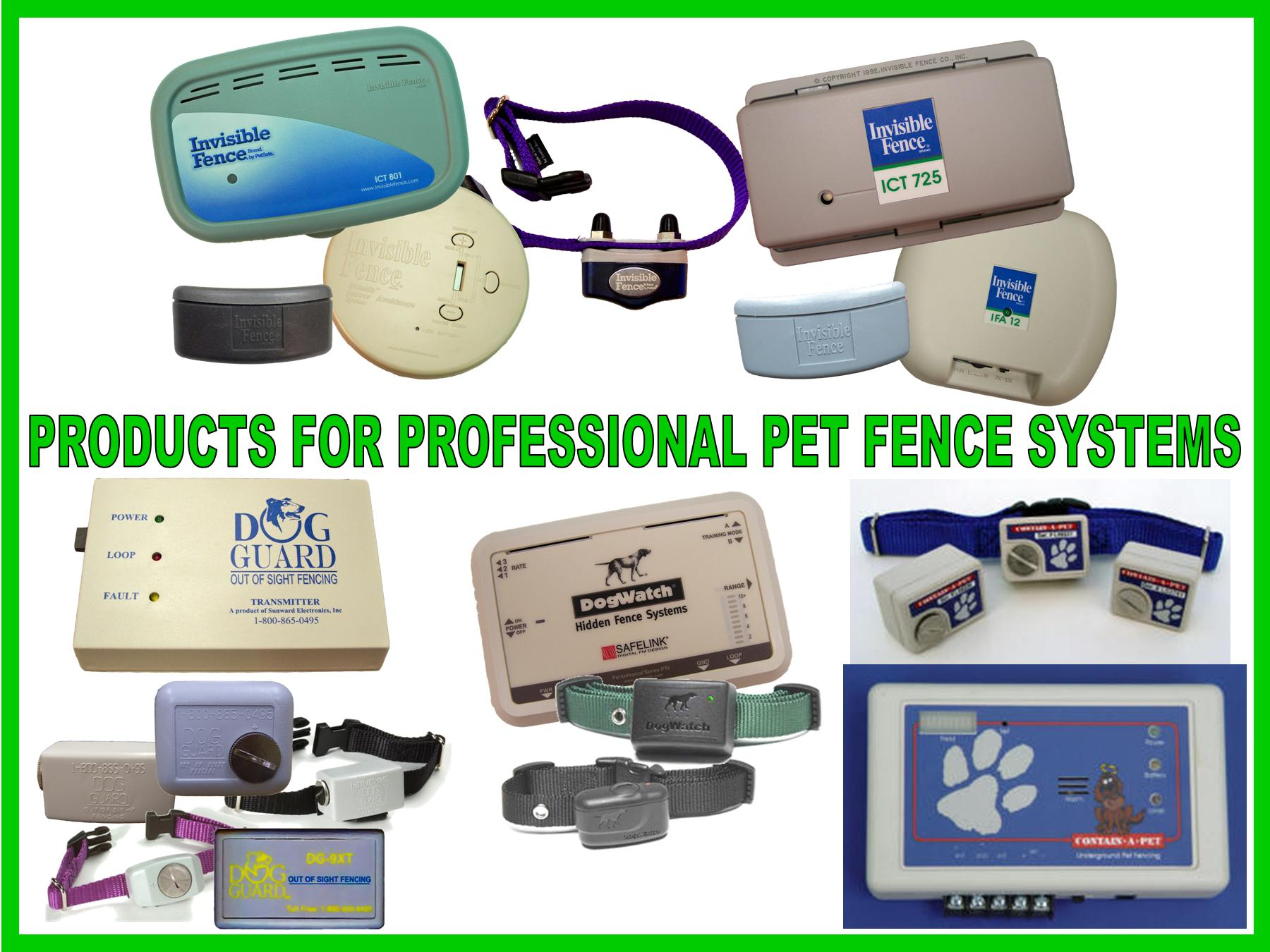 Professional Dog Fence Systems