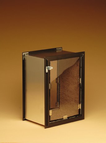 Dark Bronze Hale Pet Door: Wall Model
