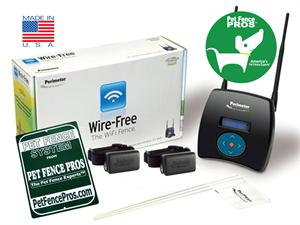 Perimeter Wifi Dog Fence System For Two Dog