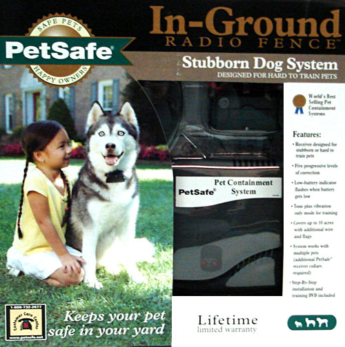Petsafe Pig00 10777 Stubborn Dog In Ground Fence