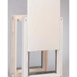Ideal pet doors ruff weather door super large for Ideal pet doors