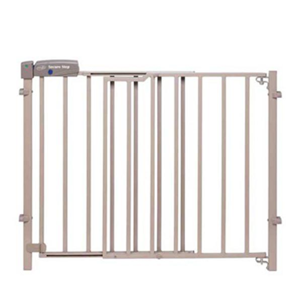 Evenflo Home Decor Wood Swing Gate: Evenflo Secure Step Top Of Stairs Gate, Taupe G4232052
