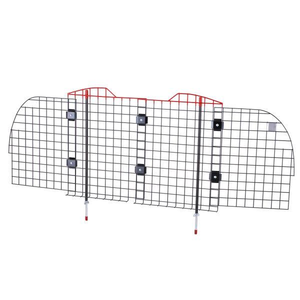 Mesh vehicle safety barrier