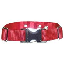 Metal Clasp Nylon Replacement Collar For Invisible Fence